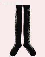 lame-lace-up-ribbon-overknee-black