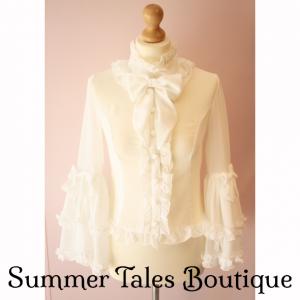 Princess sleeve blouse offwhite
