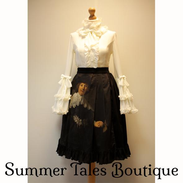 Luxurious Love Skirt Marten front