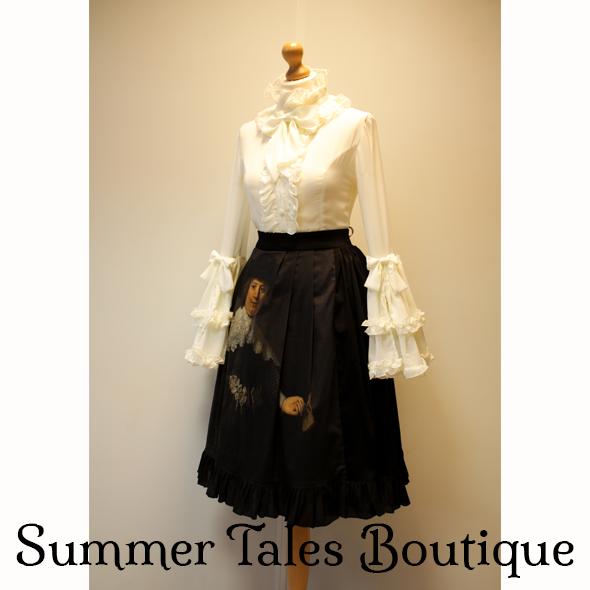 Luxurious Love Marten skirt side