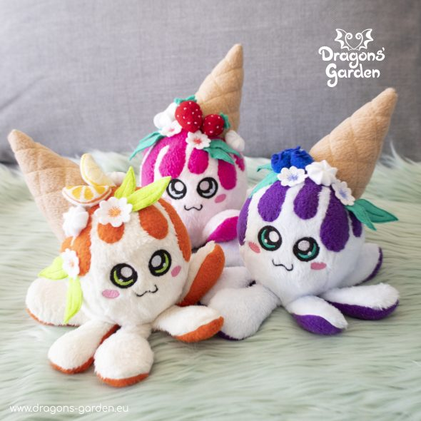 Dragons Garden Squiddy Cakes