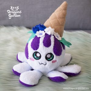 DragonsGarden Icecream Squiddy Blueberry Pie