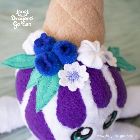 DragonsGarden Icecream Squiddy Blueberry Pie
