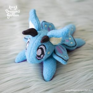 DragonsGarden Tiny Magnetic Dragon Bluey Butterfly Dragon