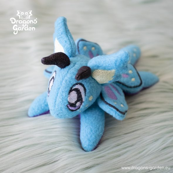DragonsGarden Tiny Magnetic Dragon Bluey Butterfly Dragon