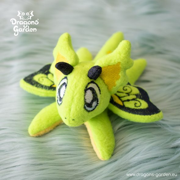 DragonsGarden Tiny Magnetic Dragon Greeny Butterfly Dragon