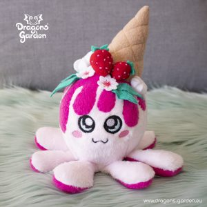 DragonsGarden Icecream Squiddy Strawberry Shortcake