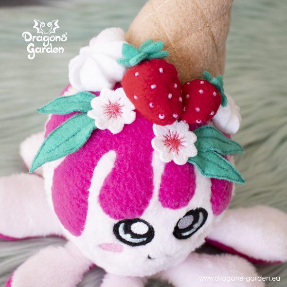 DragonsGarden Icecream Squiddy Strawberry Shortcake