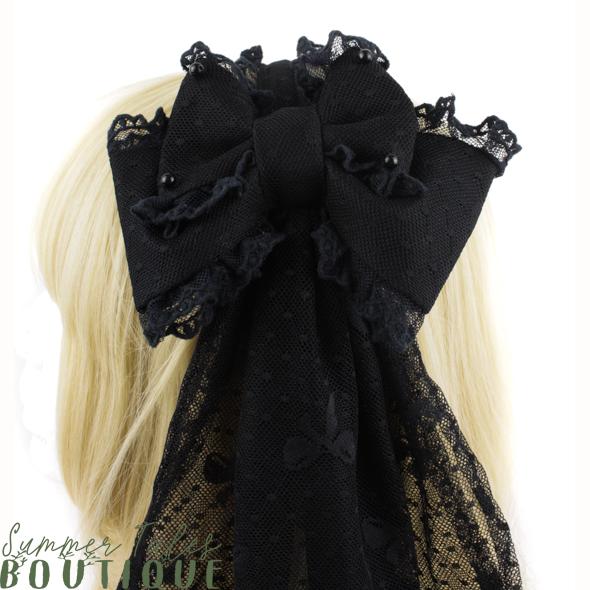 Black Veil Headbow