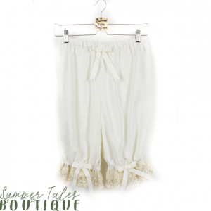 Luxurious Linen Bloomers Beige