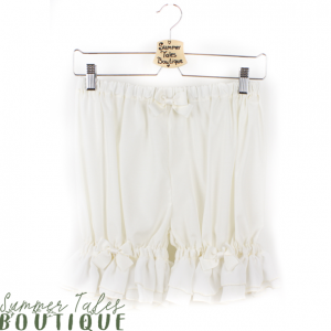 Long Chiffon Bloomers beige