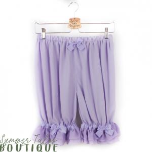 Long Chiffon Bloomers Lavender