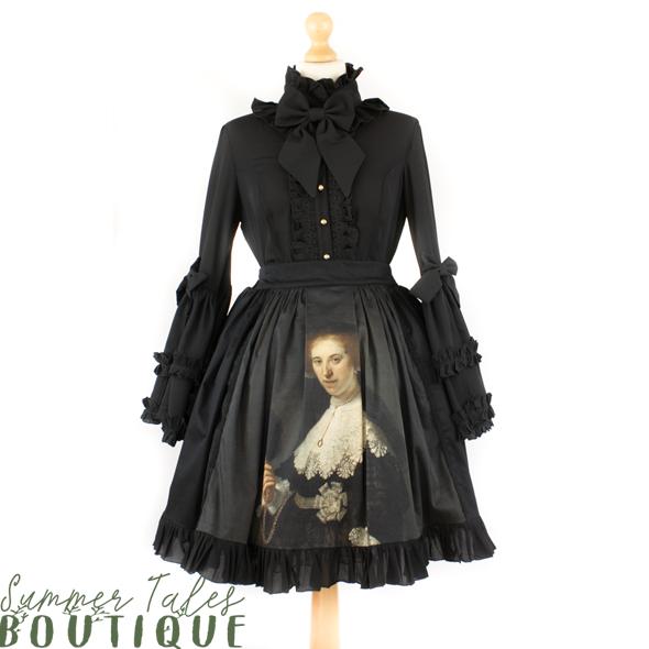Oopjen Luxurious Love Skirt