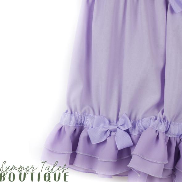 Short Chiffon Bloomers Lavender