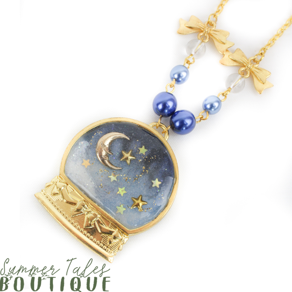 Night Sky Dome Necklace