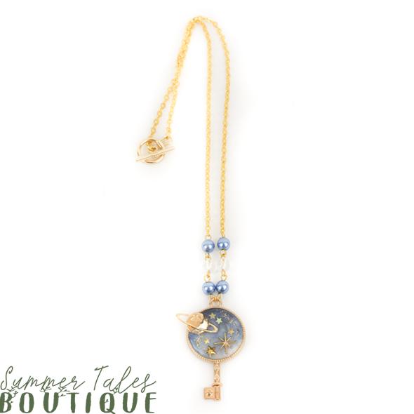 Night Sky Key Necklace