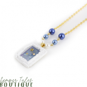 Night Sky Petit Frame Necklace
