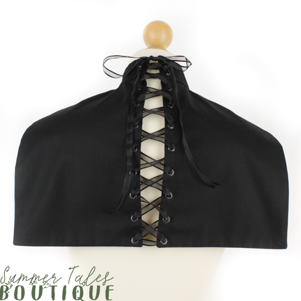 Divine Devotion Nun Collar black