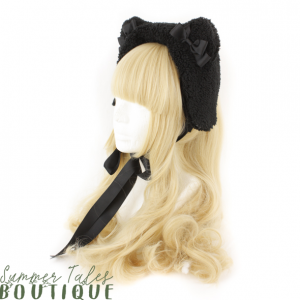 Dreamy bearhat black