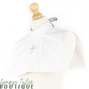 Divine Devotion Nun Collar white
