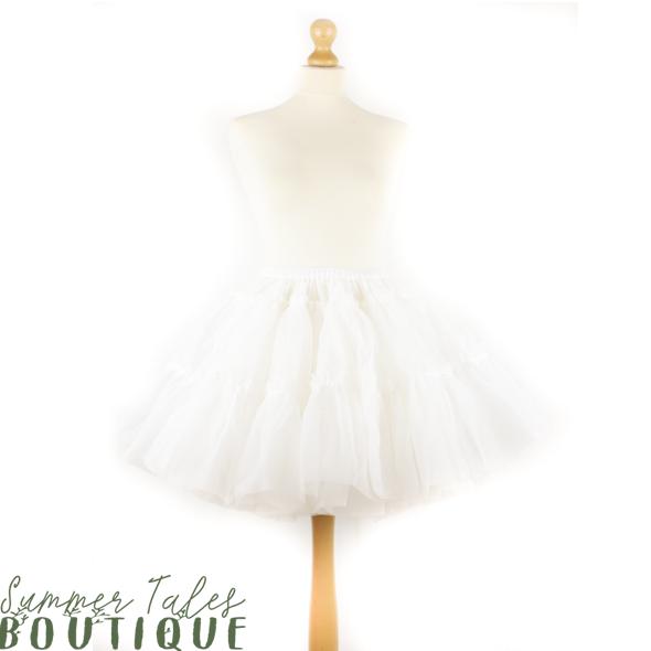 Regular Petticoat White
