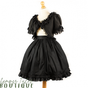 Nostalgia skirt black lace