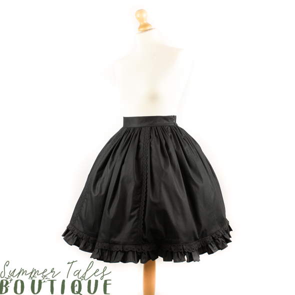 Nostalgia skirt black lace