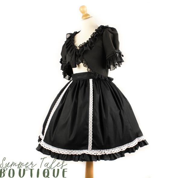 Nostalgia skirt white lace