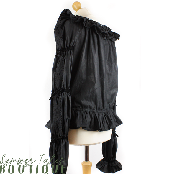 Florence black cotton
