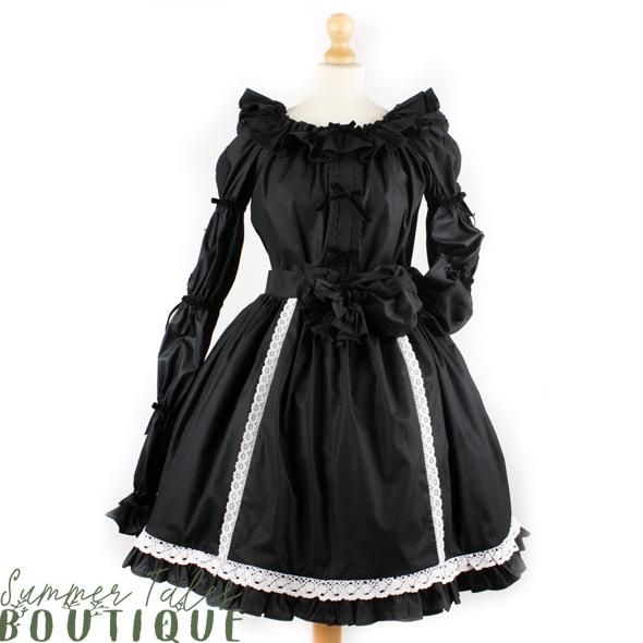 Florence black cotton