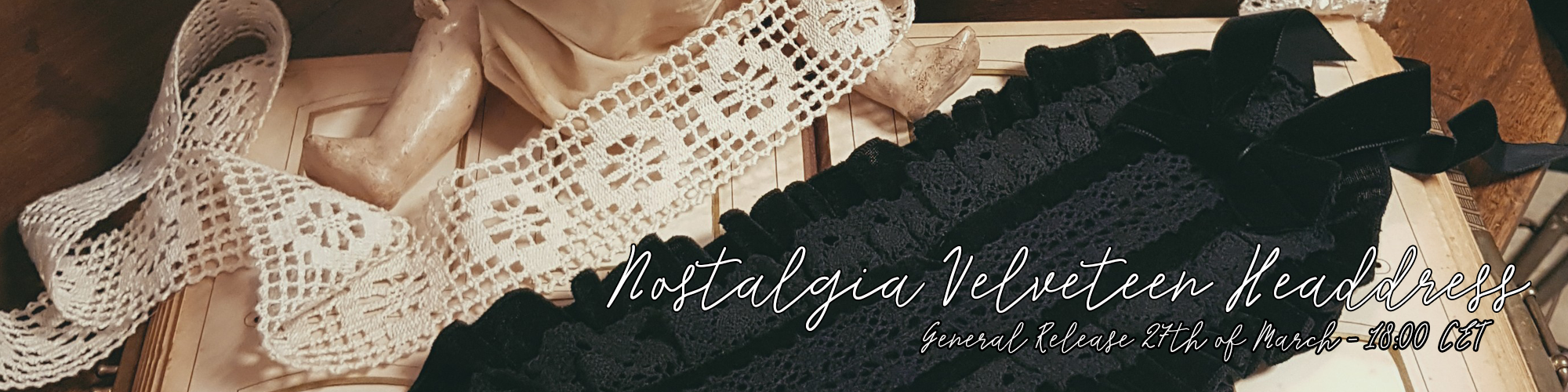 Nostalgia velveteen headdress general rerelease